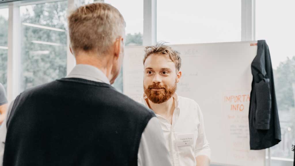 Toolbox, Keystones, medlemsmøde, pitch, iværksætteri, investor, investering i startups, investor, Frederik Søgaard